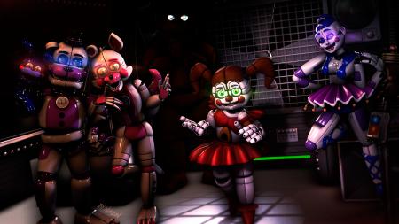 Five Nights at Freddys Sister Location | Пять ночей у Фредди 3 | ФНАФ 3